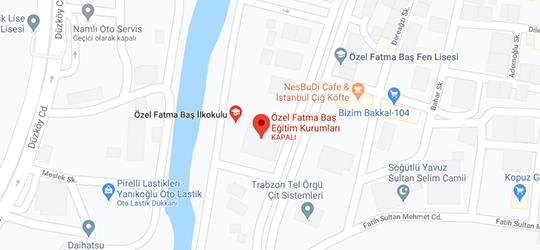 Fatma Baş Koleji Harita